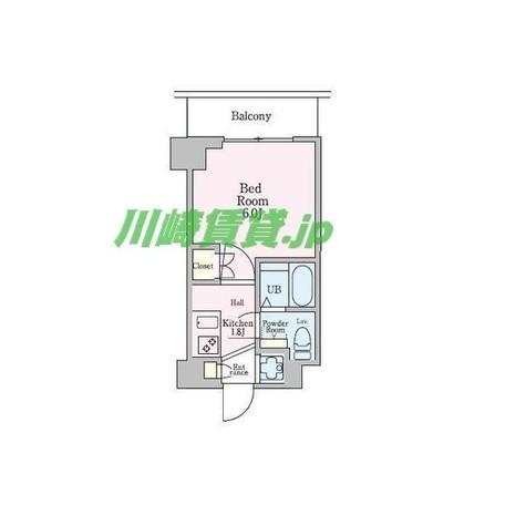 エクセレントプレイス武蔵小杉 / 404 部屋画像1