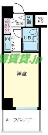 ライオンズプラザ元住吉 / 3階 部屋画像1
