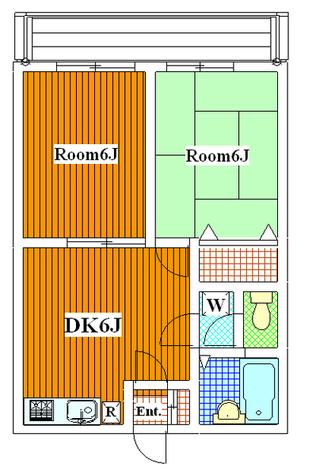 パークサイド野毛 / 205 部屋画像1