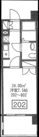 シャリオ本芝 / 302 部屋画像1