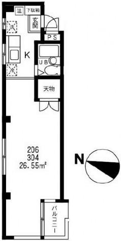 メゾンカタキリ / 2階 部屋画像1