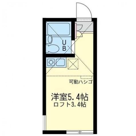 ユナイト小倉モッキンポット / 2階 部屋画像1