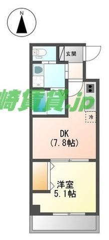 Kosugi Westy(小杉ウエスティ) / 2階 部屋画像1