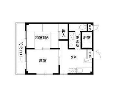 メゾン美鈴 / 3階 部屋画像1