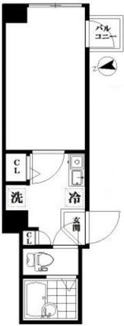 アイディ品川Ⅱ / 6階 部屋画像1
