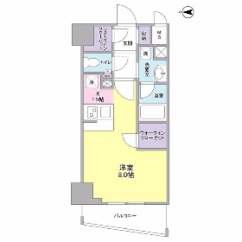 ディアレンス横濱沢渡 / 404 部屋画像1