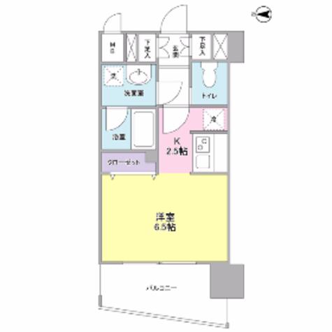 ディアレンス横濱沢渡 / 4階 部屋画像1