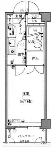 タウンシップ川崎 / 4階 部屋画像1