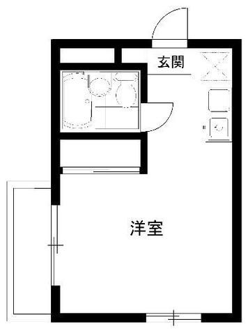 メゾン・ド・ミニヨン / 4階 部屋画像1