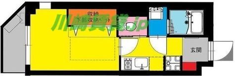 b'CASA Lazo saiwai(ビーカーサ) / 1階 部屋画像1