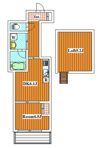 PORTE / 302 部屋画像1