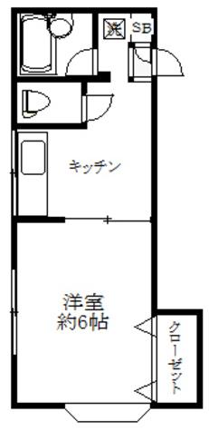 メゾン楢 / 2階 部屋画像1