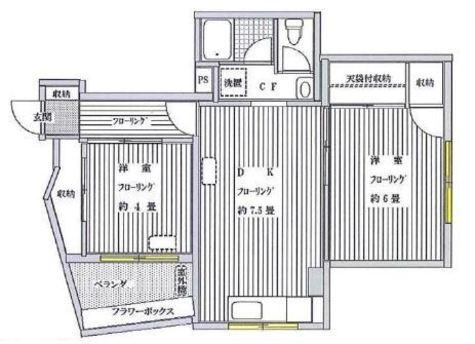 目黒ハイホーム / 11階 部屋画像1