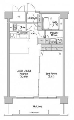 品川シーサイド 9分マンション / 6階 部屋画像1