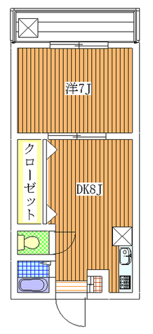 池マンション / 302 部屋画像1