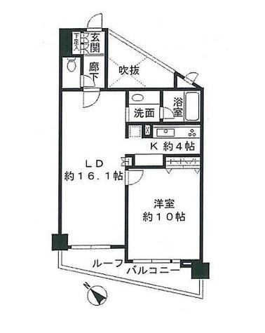 Aden目黒三田 / 606 部屋画像1
