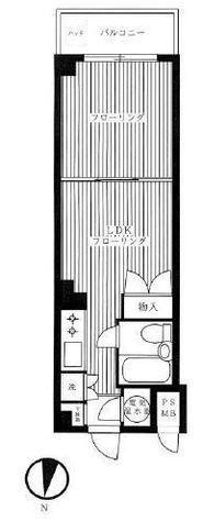 ヴェラハイツ恵比寿 / 3階 部屋画像1