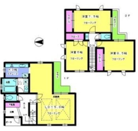 S&F COURT / 1階 部屋画像1