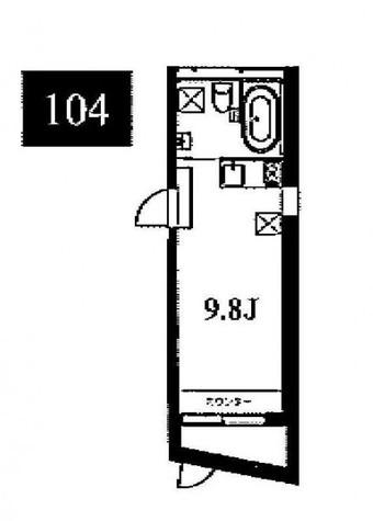 Apartment KURO meguro / 104 部屋画像1