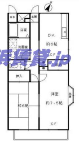 ステラマリス / 2階 部屋画像1