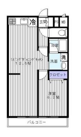 モンド大岡山パーク / 3階 部屋画像1