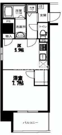 アジル湘南 / 4階 部屋画像1