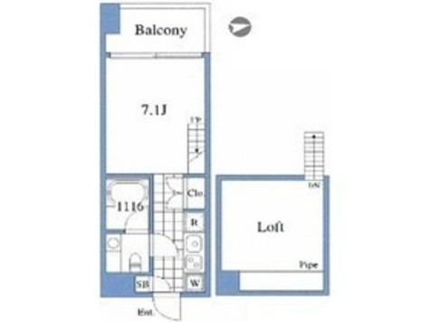 【仮称】リーテック高輪プロジェクト / 5階 部屋画像1