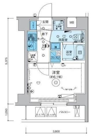 リヴシティ横濱インサイト / 5階 部屋画像1