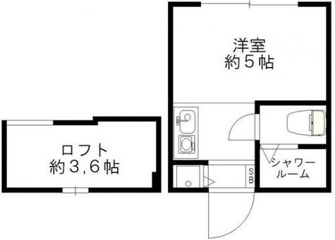 アドバンス共進町 / 1階 部屋画像1