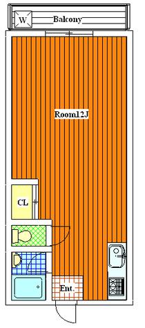 等々力 1分マンション / 303 部屋画像1