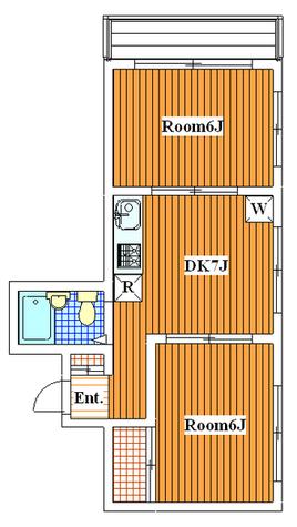 ハルモニア平町 / 206 部屋画像1