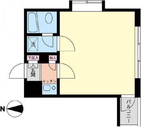 サンストーンズビルド / 3階 部屋画像1