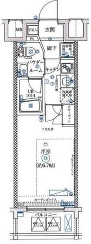 フェルクルールプレスト横浜弘明寺 / 2階 部屋画像1
