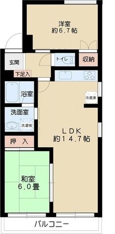 フォレストリーム本郷 / 1階 部屋画像1
