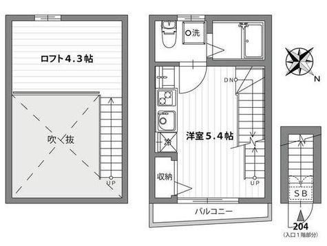 クラソ馬込 / 2階 部屋画像1