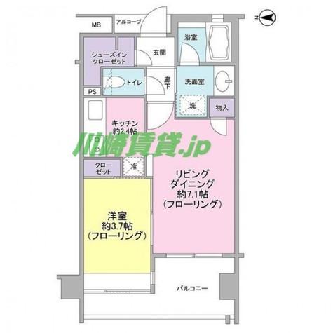 アイムズ新丸子 / 2階 部屋画像1