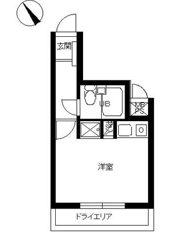 スカイコート横浜弘明寺 / 3階 部屋画像1