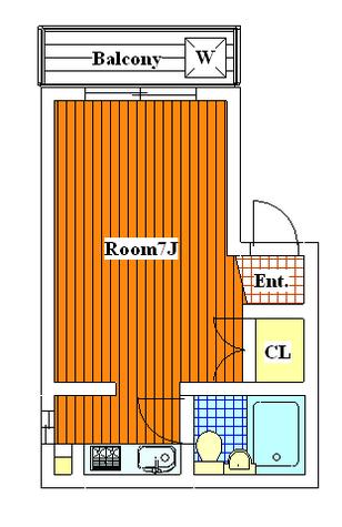 メゾン・アイル / 301 部屋画像1