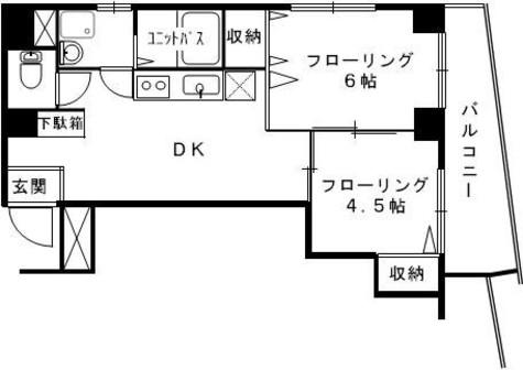 サントピア四谷 / 5階 部屋画像1