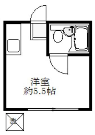 ハイツSS / 1階 部屋画像1