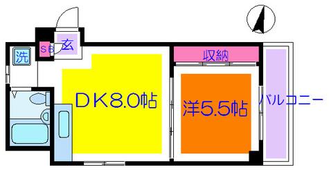 ピースイン湯島 / 3階 部屋画像1