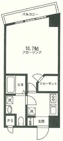ラベール横濱 / 4階 部屋画像1