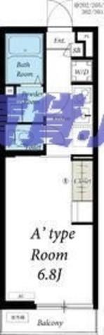 リブリ・湘南台 / 2階 部屋画像1