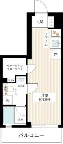 スパシエソリデ横浜鶴見 / 9階 部屋画像1