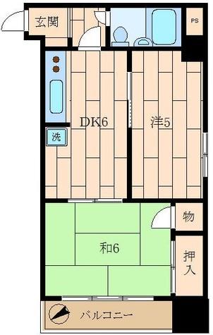 VIP新宿御苑 / 5階 部屋画像1