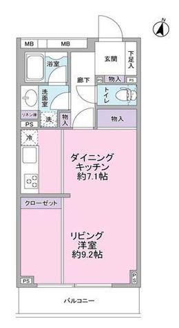 THEMELIOMEGURO / 3階 部屋画像1