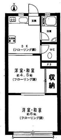 ガーデンホームズ武蔵小山 / 4階 部屋画像1