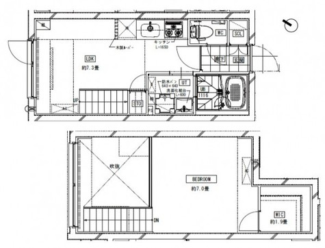 LEGALAND MEGURO(リーガランド目黒) / 4階 部屋画像1