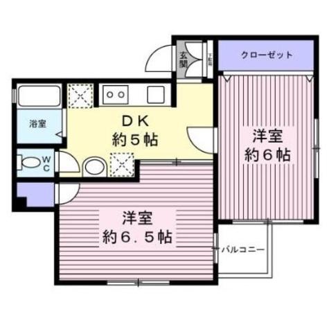以呂波ビル / 40B 部屋画像1