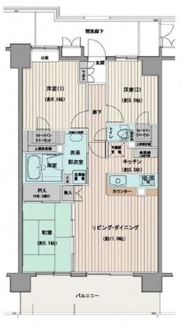 サンクレイドル松戸弐番館 / 7階 部屋画像1